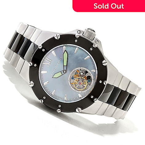 620-078 - Android 45mm Divemaster Enforcer Limited Edition Automatic Tourbillon Bracelet Watch