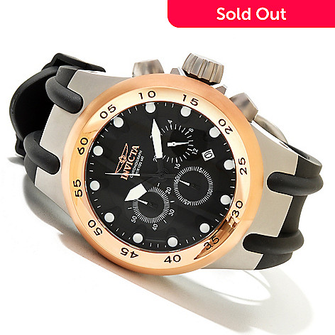 620-144 - Invicta Men's Specialty S1 Aviation Stainless Steel Polyurethane Strap Watch
