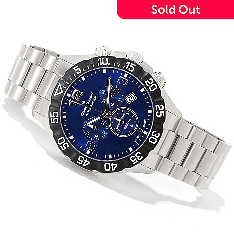 620-159 - Claude Bernard Men's Aquarider Swiss Made Quartz Chronograph Bracelet Watch