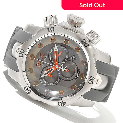 620-263 - Invicta Reserve Men's Venom Swiss Made Quartz Chronograph Polyurethane Strap Watch