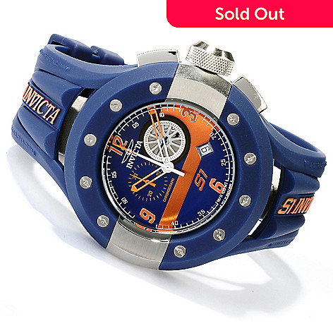 620-266 - Invicta Men's S1 Rally Quartz Chronograph Stainless Steel Polyurethane Strap Watch