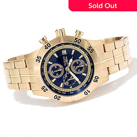 620-268 - Invicta Men's Specialty Quartz Chronograph Stainless Steel Bracelet Watch w/ 8-Slot Dive Case