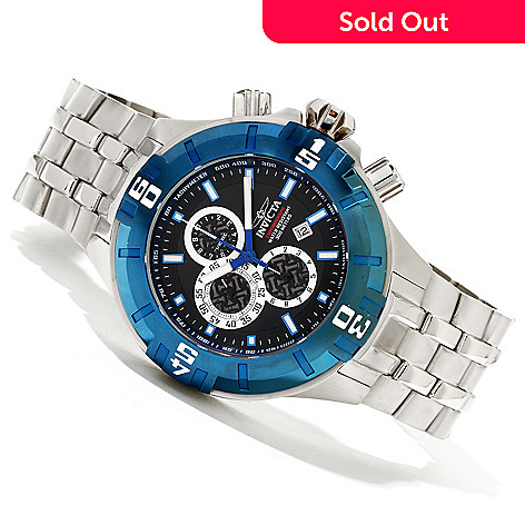 620-274 - Invicta Men's Pro Diver XXL Quartz Chronograph Stainless Steel Bracelet Watch
