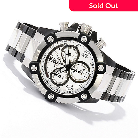 620-335 - Invicta Reserve 48mm Jason Taylor Limited Edition Bracelet Watch w/ Three-Slot Dive Case