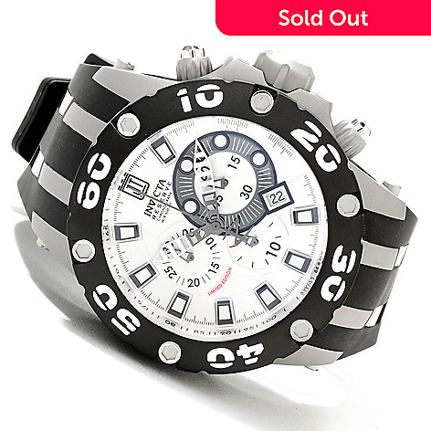 620-337 - Invicta Reserve Men's Jason Taylor Specialty Subaqua Scuba Strap Watch w/ 3-Slot Dive Case