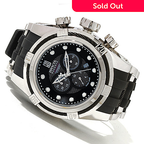 620-341 - Invicta Reserve 52mm Jason Taylor Bolt Zeus Limited Edition Swiss Made Watch w/ 3-Slot Dive Case