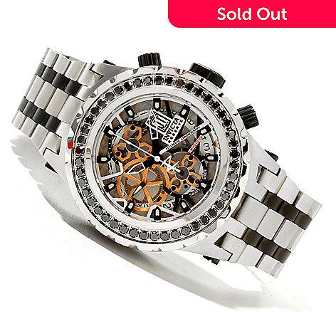 620-342 - Invicta Reserve Men's Jason Taylor Specialty Subaqua A07 Valgranges Watch w/ 3-Slot Dive Case
