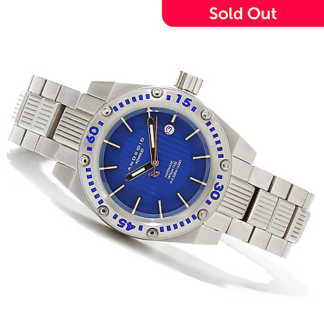 620-381 - Android Men's Aquajet T100 Limited Edition Automatic Bracelet Watch