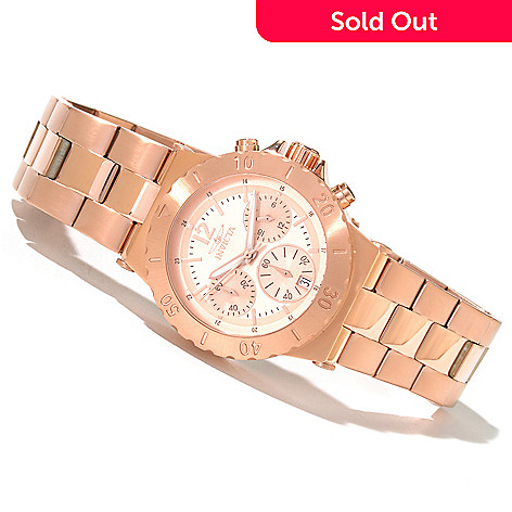 620-384 - Invicta Women's Specialty Elegant Ocean Quartz Chronograph Stainless Steel Bracelet Watch