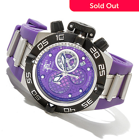 620-385 - Invicta Mid-Size Subaqua Noma IV Swiss Made Quartz Chronograph Rubber Strap Watch