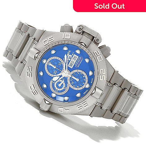 620-392 - Invicta Men's Subaqua Noma IV Limited Edition Swiss Valjoux 7750 Titanium Bracelet Watch