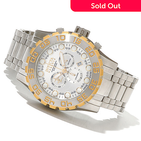 620-411 - Invicta Reserve Men's Leviathan Evolution Swiss Made Quartz Chronograph Bracelet Watch