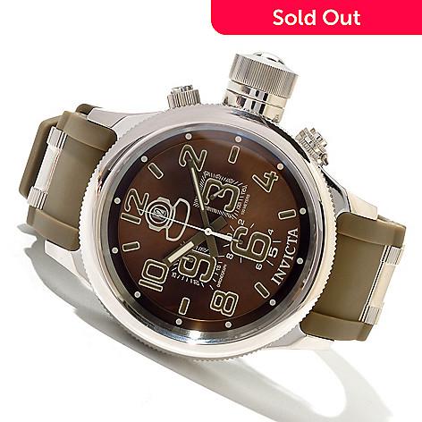 620-412 - Invicta Men's Russian Diver Quartz Chronograph Stainless Steel Strap Watch
