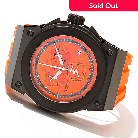 620-418 - Invicta Reserve Men's Akula Swiss Made Quartz Chronograph Stainless Steel Strap Watch