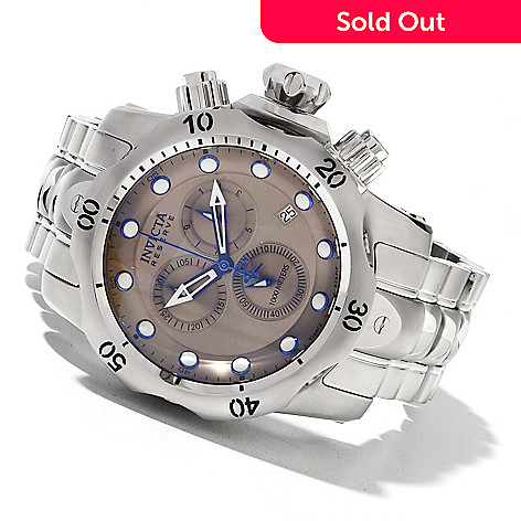 620-473 - Invicta Reserve Men's Venom Swiss Made Quartz Chronograph Stainless Steel Bracelet Watch