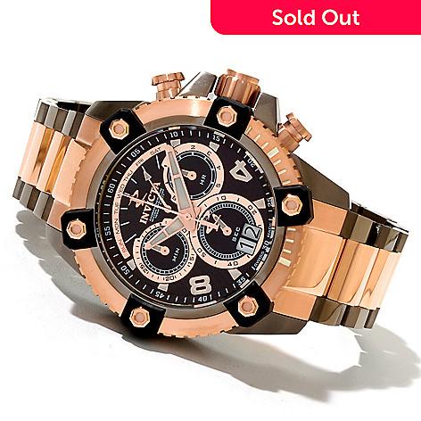 620-476 - Invicta Reserve 48mm Octane Swiss Quartz Chronograph Stainless Steel Bracelet Watch