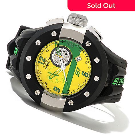 620-657 - Invicta Men's S1 Rally Quartz Chronograph Stainless Steel Polyurethane Strap Watch