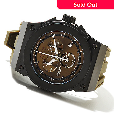 620-679 - Invicta Reserve Men's Akula Swiss Made Quartz Chronograph Stainless Steel Strap Watch