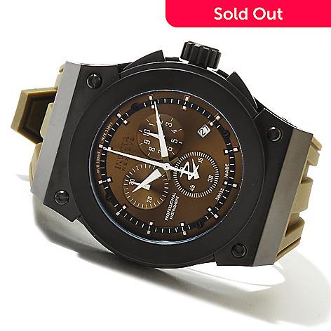 620-679 - Invicta Reserve Men's Akula Swiss Made Quartz Chronograph Stainless Steel Strap Watch