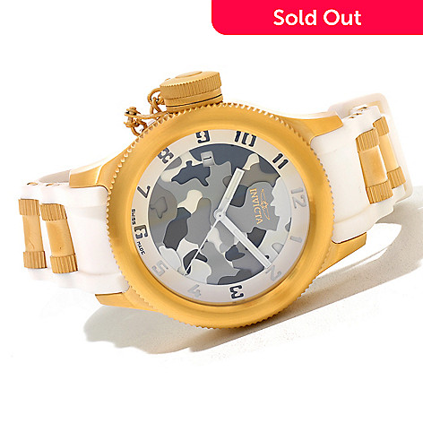 620-689 - Invicta Women's Russian Diver Swiss Made Quartz Stainless Steel Strap Watch
