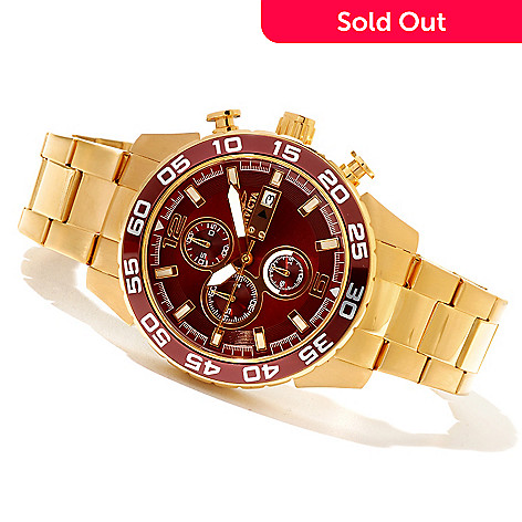 620-705 - Invicta Men's Specialty Quartz Chronograph Stainless Steel Bracelet Watch