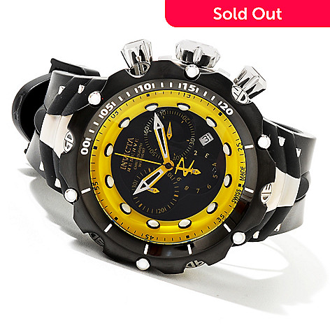 620-710 - Invicta Reserve Men's Venom Gen II Swiss Made Quartz Chronograph Stainless Steel Strap Watch