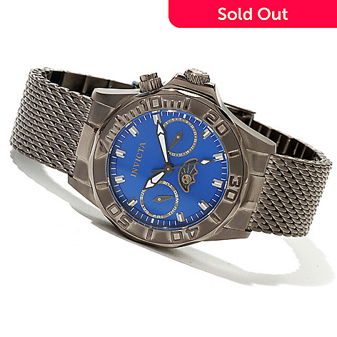 620-714 - Invicta Women's Pro Diver Quartz Stainless Steel Mesh Bracelet Watch