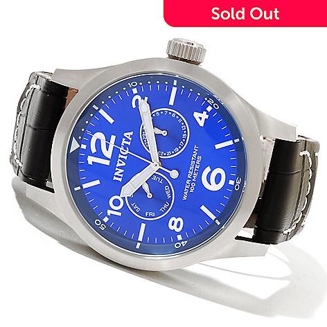 620-719 - Invicta Men's Military Quartz Stainless Steel Strap Watch w/ Three-Slot Collector's Box