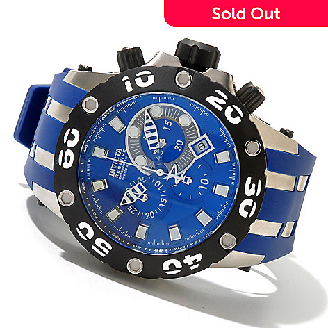 620-725 - Invicta Reserve Men's Specialty Subaqua Scuba Swiss Made Chronograph Watch w/ 3-Slot Dive Case