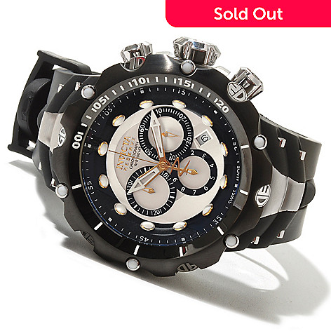 620-740 - Invicta Reserve Men's Venom Gen II Swiss Made Quartz Chronograph Stainless Steel Strap Watch