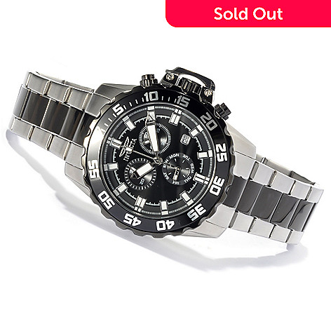 620-744 - Invicta Men's Pro Diver Sport Quartz Chronograph Bracelet Watch