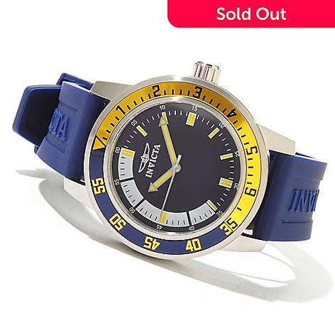 620-745 - Invicta Men's Specialty Sport Diver Quartz Polyurethane Strap Watch w/ 3-Slot Collector's Box