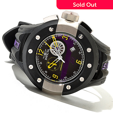 620-750 - Invicta Men's S1 Rally Quartz Chronograph Stainless Steel Polyurethane Strap Watch
