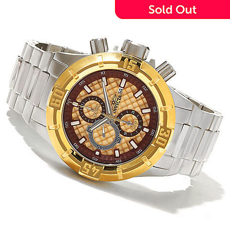 620-848 - Invicta Men's Pro Diver XXL Quartz Chronograph Stainless Steel Bracelet Watch