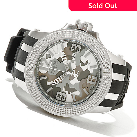 620-850 - Invicta 51mm Subaqua Sport Swiss Quartz Stainless Steel Strap Watch