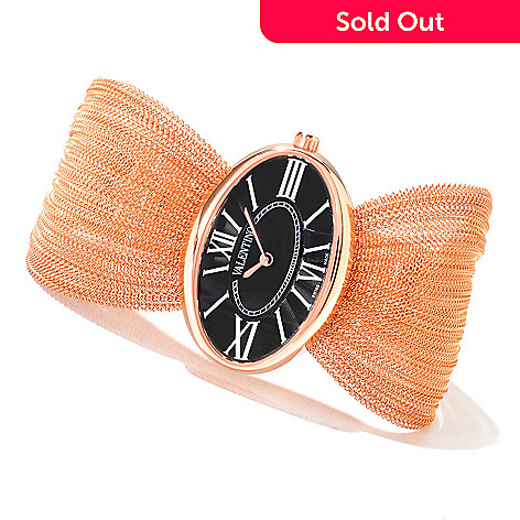 620-873 - Valentino Women's Seduction Swiss Made Quartz Stainless Steel Bracelet Watch