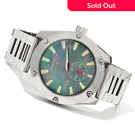 621-041 - Android Men's Antigravity Jumping Hour Limited Edition Automatic Tungsten Bracelet Watch