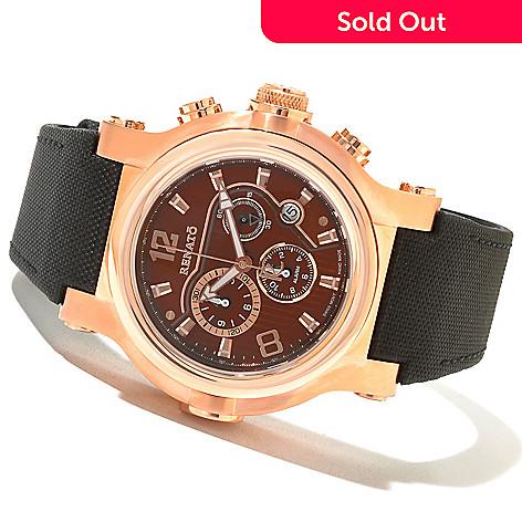 621-165 - Renato Men's T-Rex Sport Swiss Quartz Chronograph Stainless Steel Strap Watch