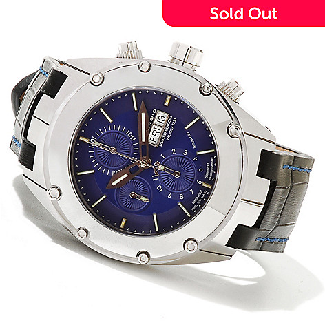 621-189 - Android Men's Virtuoso Tungsten T100 Limited Edition Swiss Valjoux 7750 Automatic Strap Watch