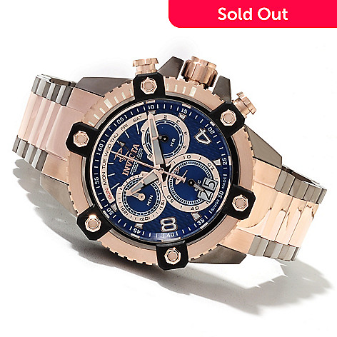 621-196 - Invicta Reserve 48mm Octane Swiss Quartz Chronograph Stainless Steel Bracelet Watch