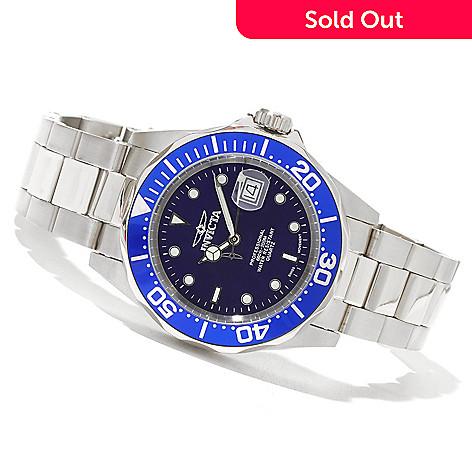 621-267 - Invicta Men's Pro Diver Swiss Quartz Bracelet Watch w/ Three-Slot Collector's Box