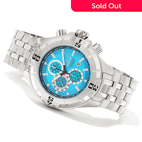 621-279 - Invicta 50mm Pro Diver XXL Quartz Chronograph Stainless Steel Bracelet Watch