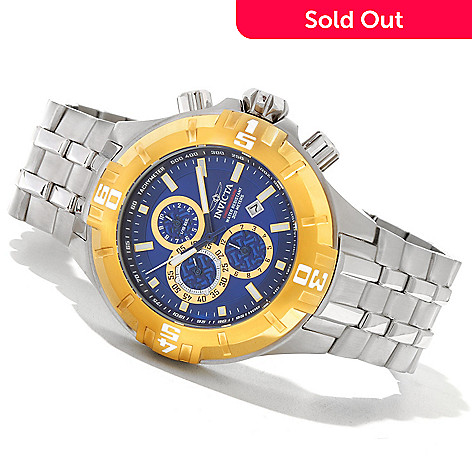621-280 - Invicta Men's Pro Diver XXL Quartz Chronograph Stainless Steel Bracelet Watch