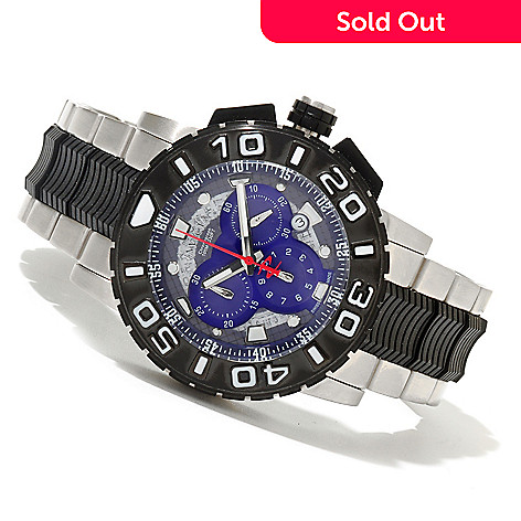 621-302 - Invicta Reserve Men's Ocean Hawk Swiss Made Quartz Chronograph Bracelet Watch