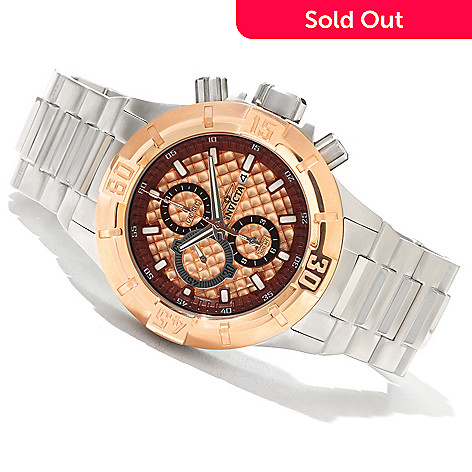 621-311 - Invicta Men's Pro Diver XXL Quartz Chronograph Stainless Steel Bracelet Watch