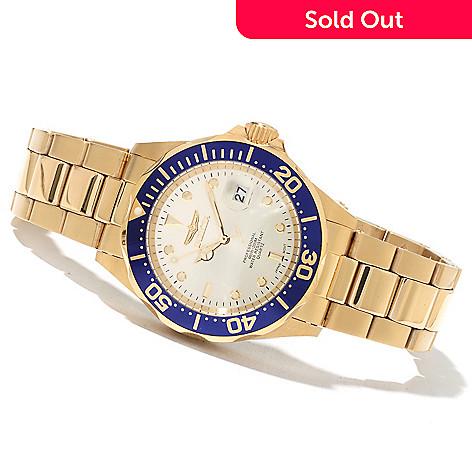 621-347 - Invicta Men's or Women's Pro Diver Quartz Stainless Steel Bracelet Watch w/ 3-Slot Collector's Box