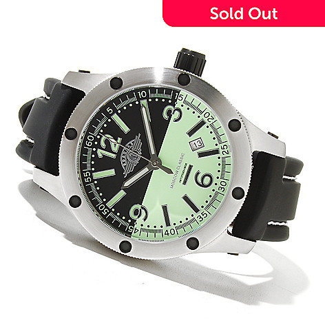 621-349 - Moscow Classic Men's Vodolaz Limited Edition Russian Automatic Rubber Strap Watch