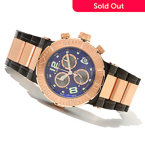 621-361 - Invicta Reserve Men's Ocean Reef Swiss Made Quartz Chronograph Bracelet Watch w/ 20-Slot Box