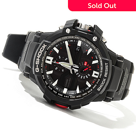 621-364 - Casio Men's G-Shock Aviation Quartz Chronograph Rubber Strap Watch