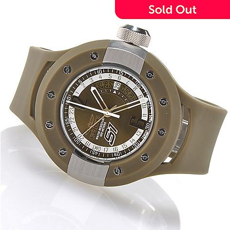 621-370 - Invicta Men's S1 Rally Swiss Made Quartz GMT Strap Watch